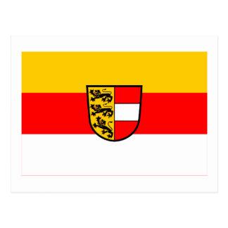 Flag of Carinthia, Austria Postcard