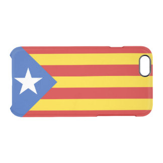 Flag of Catalan Independence Clear iPhone Case