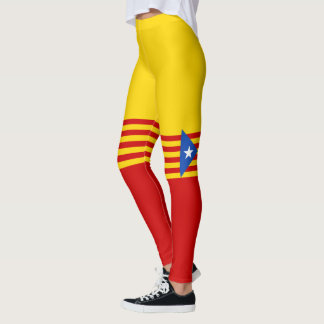 Flag of Catalan Independence Leggings