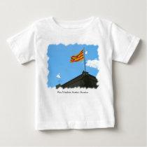 Flag of Catalonia Baby T-Shirt
