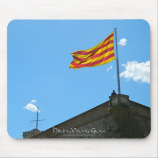 Flag of Catalonia Mouse Pad