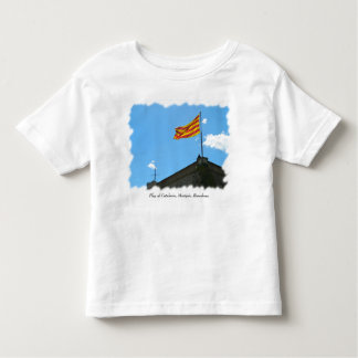 Flag of Catalonia Toddler T-shirt
