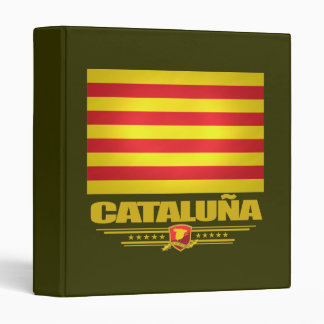 Flag of Cataluna (Catalonia) Binder