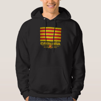 Flag of Cataluna (Catalonia) Hoodie