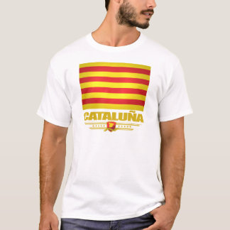 Flag of Cataluna (Catalonia) T-Shirt