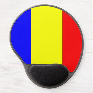 Flag of Chad Gel Mouse Pad
