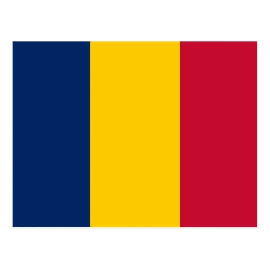 Flag of Chad Postcard