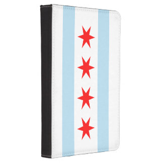 Flag of Chicago Kindle Touch Cover