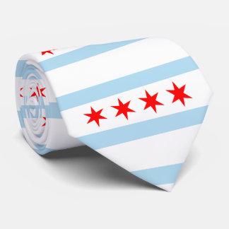 Flag of Chicago, Illinois Neck Tie