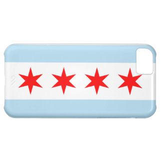 Flag of Chicago iPhone 5 Case-Mate Barely There iPhone 5C Covers