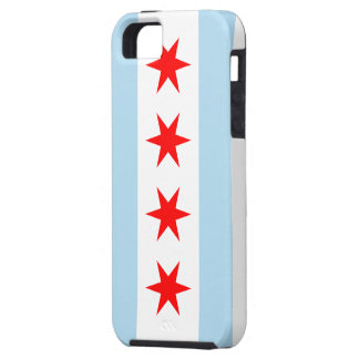 Flag of Chicago iPhone 5 Case-Mate Tough™ iPhone 5 Cases