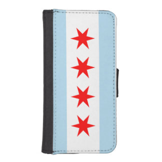 Flag of Chicago iPhone SE/5/5s Wallet