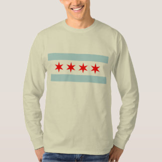 Flag of Chicago T Shirts