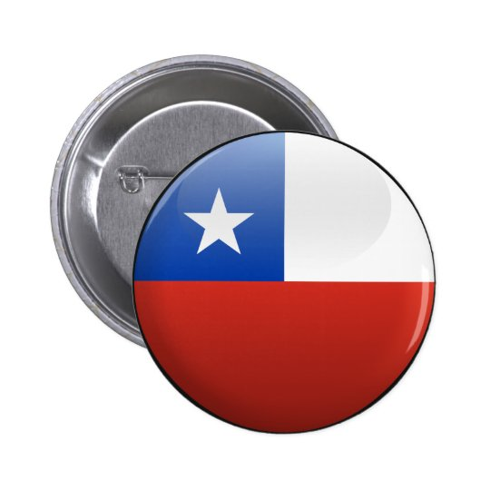 Flag of Chile Button