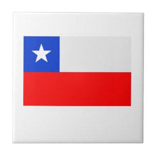 Flag of Chile Ceramic Tile