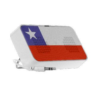 Flag of Chile Doodle Speaker