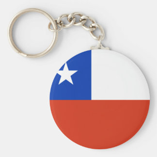 Flag of Chile Keychain