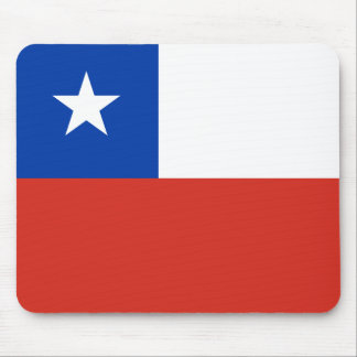 Flag of Chile Mouse Pad