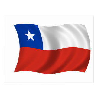 Flag of Chile Postcard