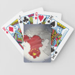 Flag of China Bicycle Playing Cards