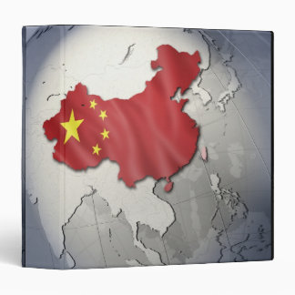 Flag of China Binder