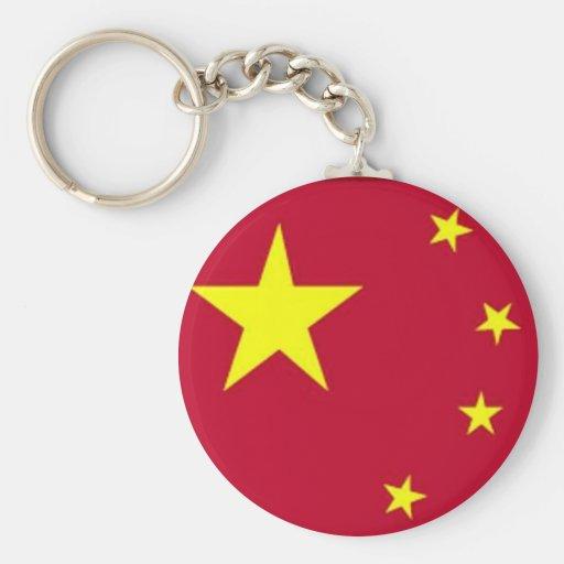 Flag of China Keychain