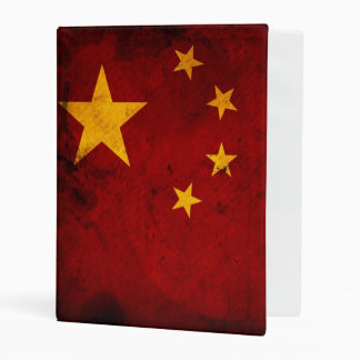 Flag Of China Mini Binder