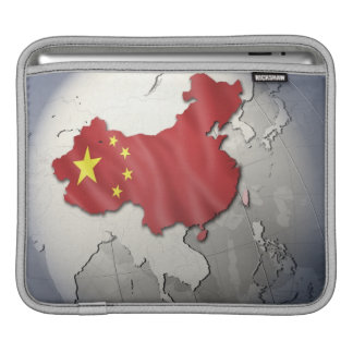 Flag of China Sleeve For iPads