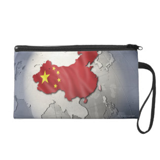 Flag of China Wristlet Purse