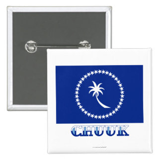 Flag of Chuuk, with name Pins