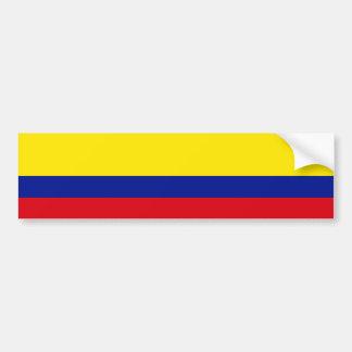 Flag of Colombia Bumper Sticker