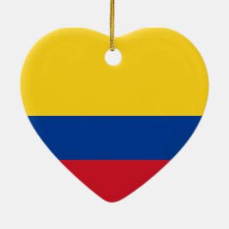 Flag of Colombia Ceramic Ornament