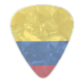 Flag Of Colombia Guitar Picks by Flagosity at Zazzle