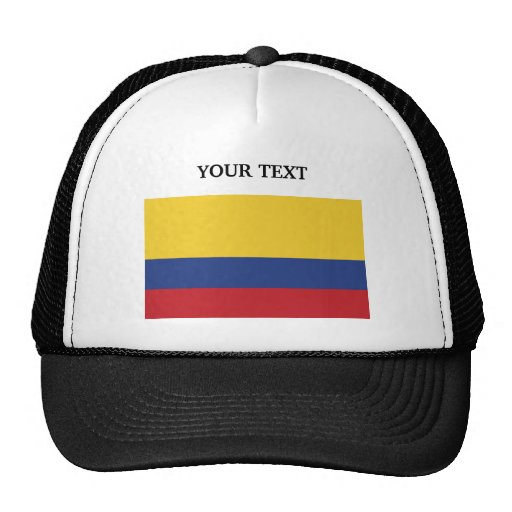 Flag of Colombia Mesh Hat