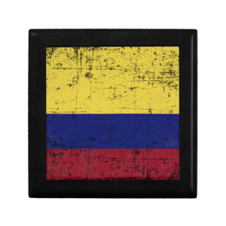 Flag of Colombia Jewelry Box
