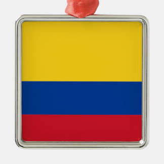 Flag of Colombia Metal Ornament