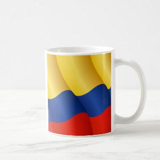 Flag of Colombia mug