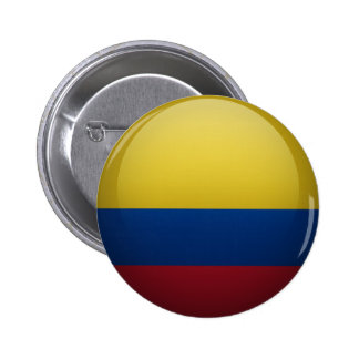 Flag of Colombia Pinback Button