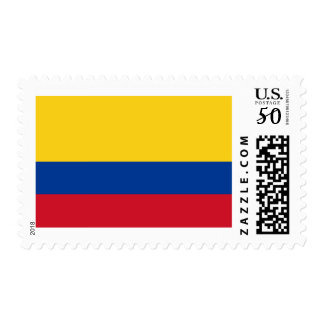 Flag of Colombia Postage Stamps