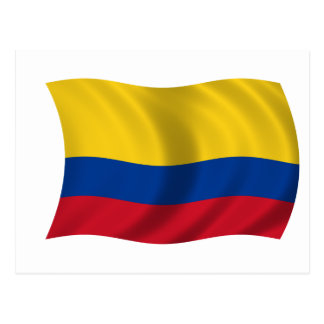 Flag of Colombia Postcard