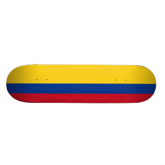 Flag of Colombia Skateboard Deck