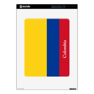 Flag of Colombia Decal For iPad