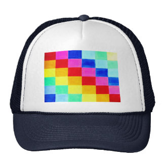 Flag of Color Abstract Background Trucker Hat