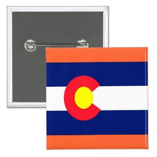 Flag of Colorado Pinback Buttons