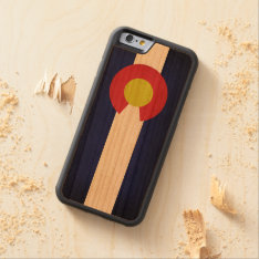 Flag Of Colorado Carved Cherry Iphone 6 Bumper Case at Zazzle
