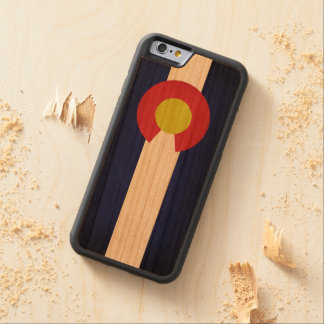 Flag of Colorado Carved® Cherry iPhone 6 Bumper Case