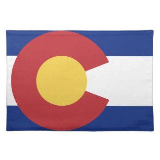 Flag of Colorado Cloth Placemat