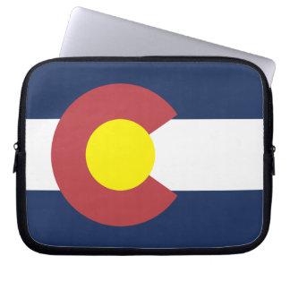 Flag of Colorado Computer Sleeve