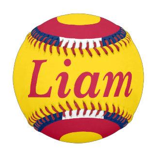 Flag of Colorado Customizable Name and Year Baseball