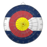 Flag of Colorado Dart Boards